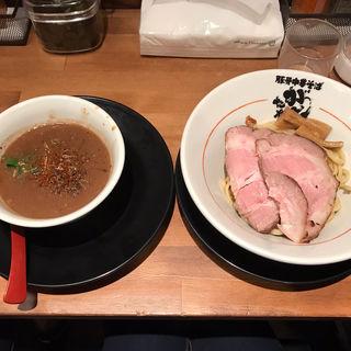 つけ麺300g(味玉)(豚骨中華そば がんたれ)