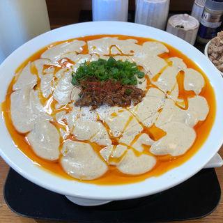 鶏白湯担々麺(期間限定)(中華そば 風 (KAZE))