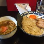 極煮干し醤油つけ麺/辛み
