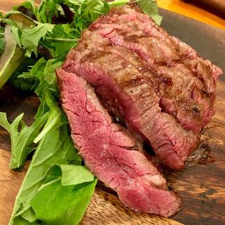 ブラックアンガス ハラミのステーキ