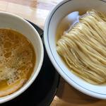 秋刀魚水つけ麺(麺や 清流)
