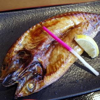 金華サバ焼き定食(元気食堂)