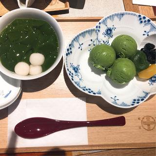 抹茶ゼリー(中村藤吉本店 銀座店)