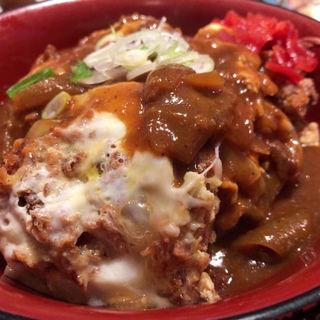 かつ丼カレー丼(風笑り家 )