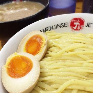 鶏煮込みつけ麺(ラーメン人生 JET600 )