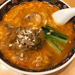 ザーサイ担々麺