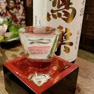 宮泉銘醸「寫楽 純米酒」(鰓呼吸 巣鴨 (エラコキュウ))
