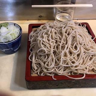 ざる蕎麦大盛り(山そば店)