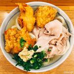 肉うどん スペシャル (鶏天・豚肉)