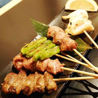 串焼き5本盛合せ(漁帆(いさりほ))