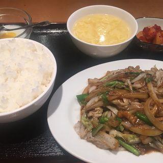 豚肉とハクサイ炒め