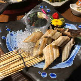 穴子の白焼き(晴れときどき魚)