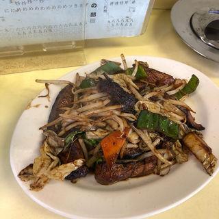 レバ野菜定食