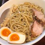 濃厚塩つけ麺(味玉トッピング)