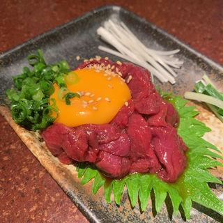 馬ユッケ(焼肉 どうらく 横浜西口店 )