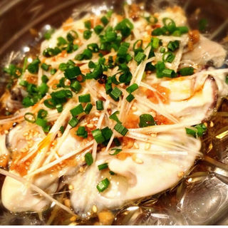 牡蠣の生レバー風(おまかせ)(酒肆ポンシェビ  (しゅしぽんしぇび))