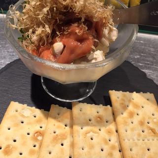 塩辛クリームチーズ(岩瀬串店)