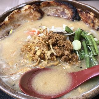 炙りチャーシュー麺(麺場 田所商店 城陽店)