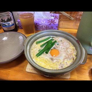 鍋焼きラーメン 並(鍋焼きラーメン千秋 )