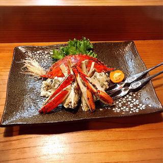 蒸し渡り蟹(とみ助 )