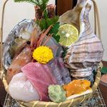氷鉢の季節のお造り