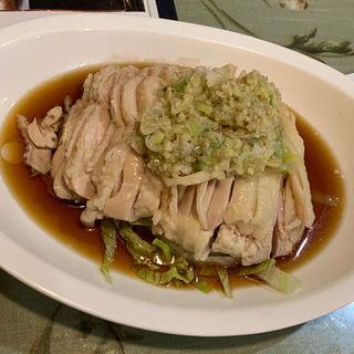 蒸し鶏の生姜乗せ(孔府家宴 長町店 (コウフカエン))