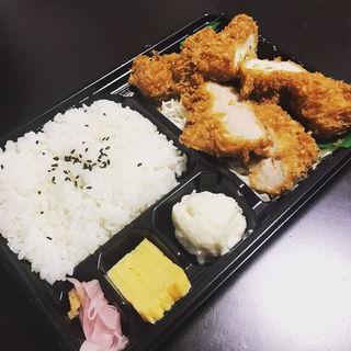 一口ヒレカツ&ササミ大葉チーズ弁当(浪漫館横浜 丸の内店)