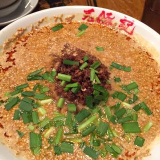 白胡麻坦々麺