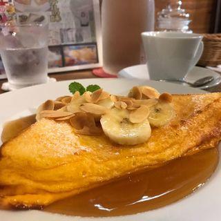 焦がしバターとキャラメルアーモンドのフレンチトースト(カフェ フェイト (Cafe Fate))