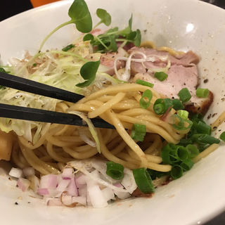 仙台牛脂そば(金町製麺 )