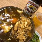 カレー南ばん(翁そば)
