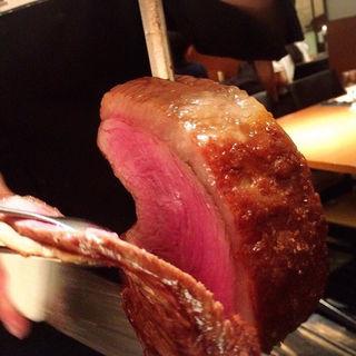 コースメニューランプ肉
