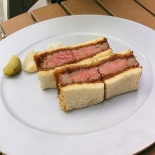 WAGYU SIRLOIN (ワギュウマフィア・ザ・カツレツ・サンドイッチ)