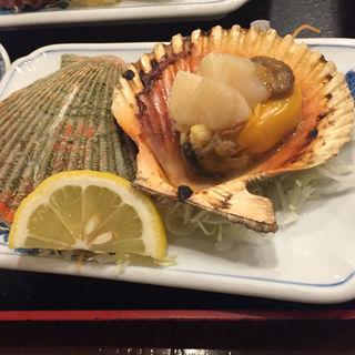 ヒオウギ貝網焼き