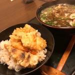 ミニミックス天丼定食