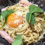 カルボナーラ(つけ麺 冨 (ツケメン トミ))