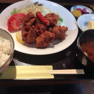 鶏の唐揚げ定食(デザート (Dessert))