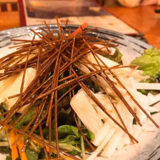 長芋とトマトの蕎麦さらだ(鳥酎 飯田橋 )