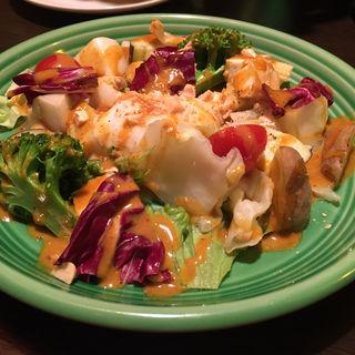 温野菜のサラダ(アガリコサッポロ)