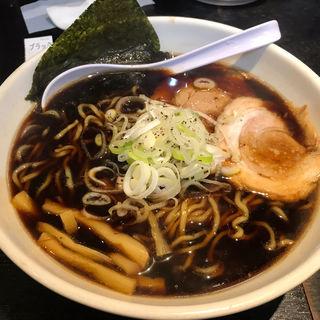 富山ブラック 麺大盛