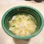 亀心麺(塩きしめん)ハーフ