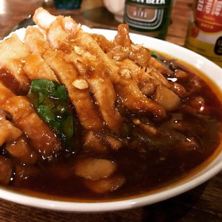 咖哩猪排飯(微風台南)