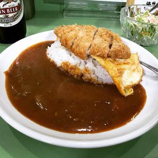 特製カレーライス「天竺飯」カツ乗せ