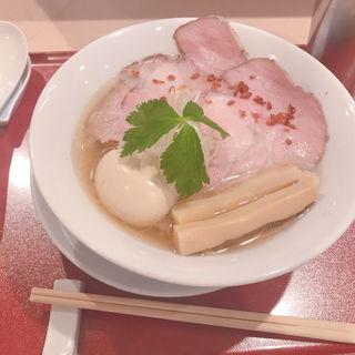 金色貝そば(燃えよ麺助)