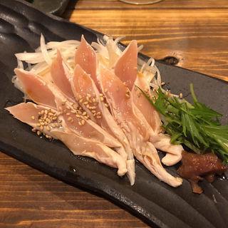 大和肉鶏笹身炙り
