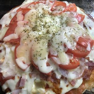 ピザお好み焼き