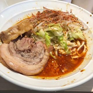 ラーメン(辛)(麺屋 味方)