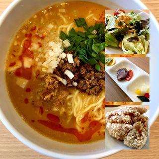 担々麺セット(ランチ)
