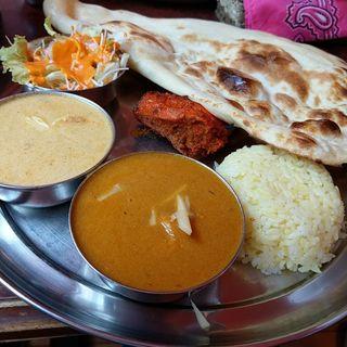 バターチキン&ナン(インディアンレストラン アールティ (Aarti))