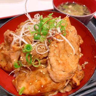 米沢三元豚の照り焼豚丼